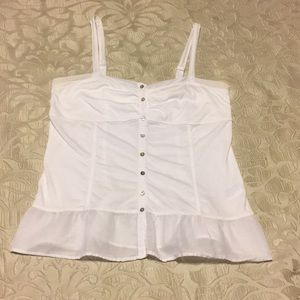 American Eagle Outfitters white cami